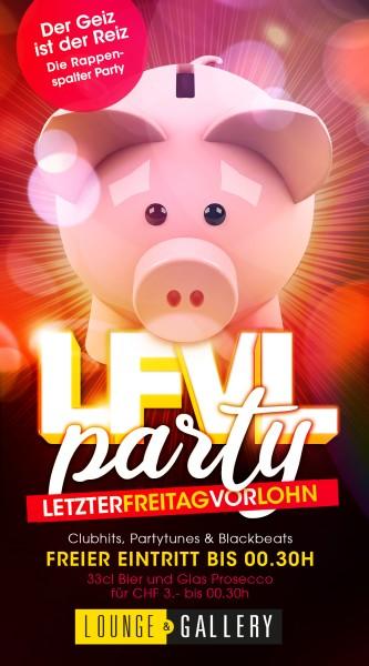 Flyer LFVL - Party / freier Eintritt bis 00.30h, Bier & Prosecco 3.-