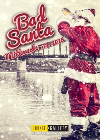 Flyer Bad Santa