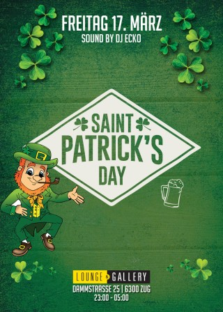 Flyer Saint Patricks Day