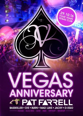 Flyer VEGAS Anniversary
