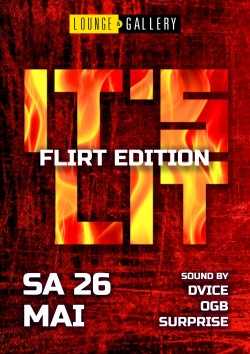 Flyer It's Lit
