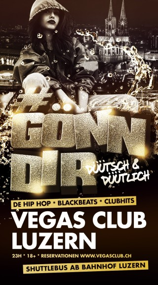 Flyer #GÖNNDIR - Düütsch & Düütlich