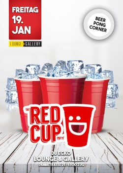 Flyer Red Cup Party