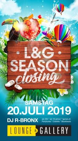 Flyer L&G Summer Closing