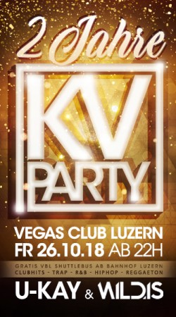 Flyer 2 Jahre KV Party