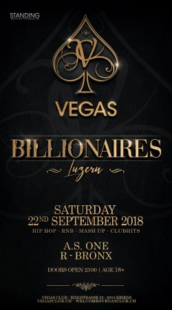 Flyer Billionaires - Clubhits & Blackbeats