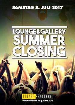 Flyer Summer Closing