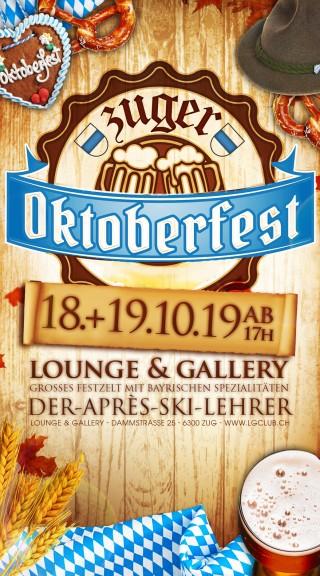 Flyer Zuger Oktoberfest