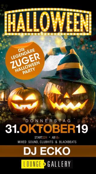 Flyer Zuger Halloween Party