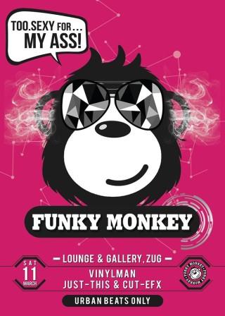 Flyer Funky Monkey