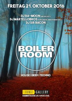 Flyer Boiler Room