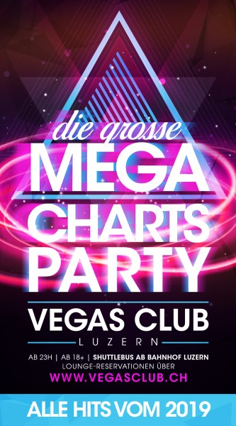 Flyer Die Mega Charts Party