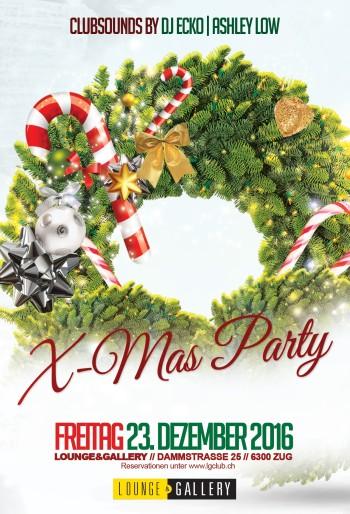 Flyer Xmas Party