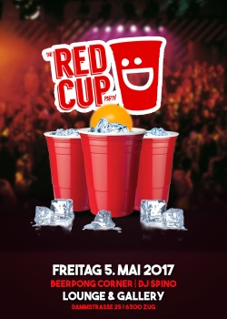 Flyer Red Cup Party - Mit Beerpong