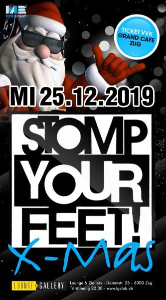 Flyer Stomp Your Feet