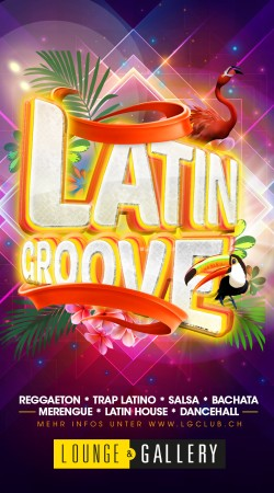 Flyer LATIN GROOVE