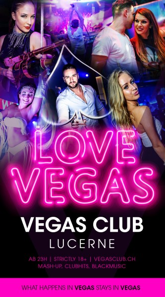 Flyer LOVE VEGAS