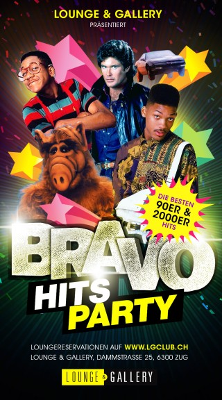 Flyer Bravo Hits Party - Ostersonntags Special
