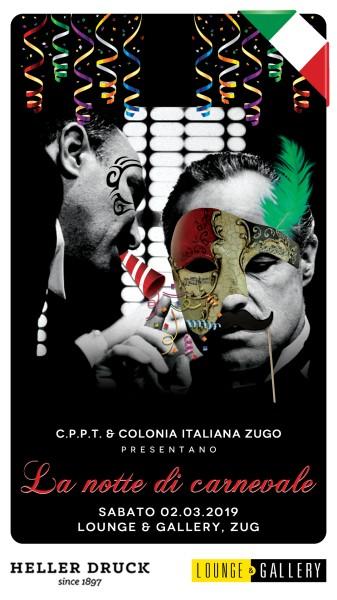 Flyer La Notte di Carnevale