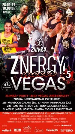 Flyer Zumba by Znergy