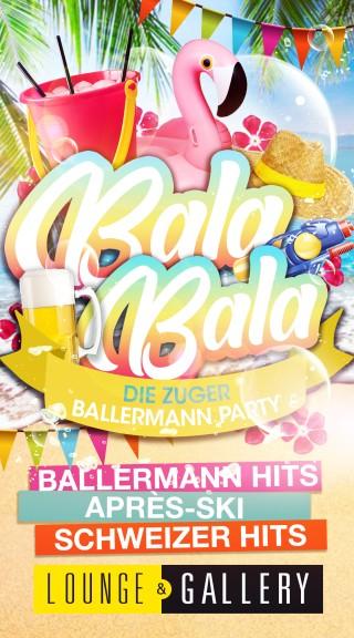 Flyer Bala Bala - Die MalleBalle Party