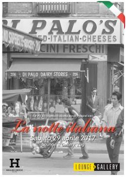 Flyer La Notte Italiana