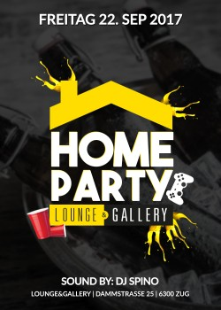 Flyer HOME PARTY