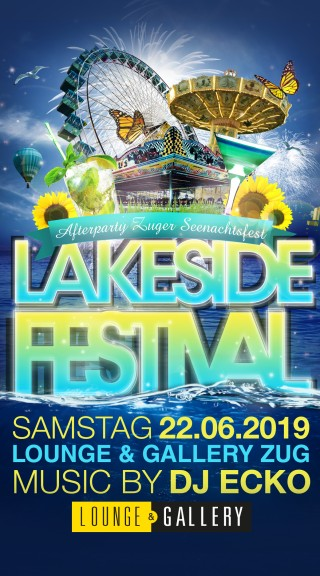 Flyer Lakeside Afterparty