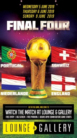 Flyer Final Four: Schweiz - Portugal