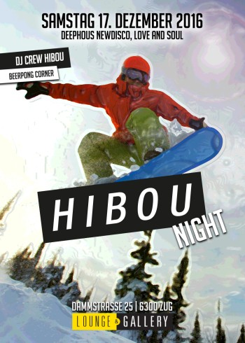 Flyer Hibou Night