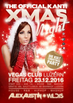 Flyer Kanti Xmas Night