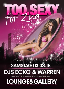 Flyer TOO.SEXY for Zug