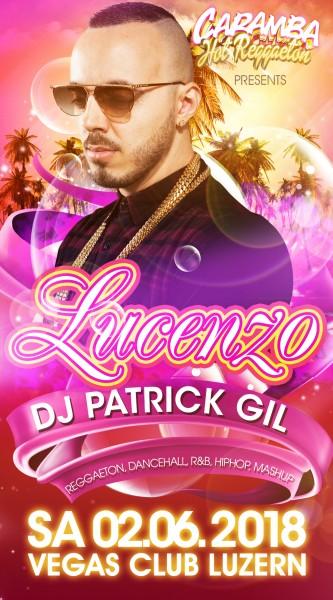 Flyer CARAMBA - Hot Reggaeton mit Lucenzo (Danza Kuduro)