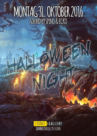 Flyer Halloween Night