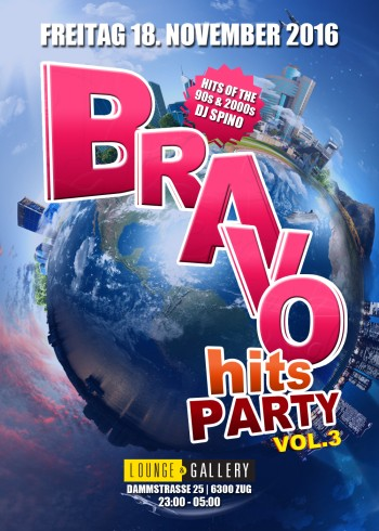 Flyer Bravohits Party