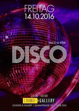 Flyer Disco