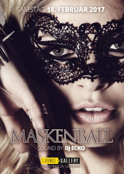 Flyer Masken Ball