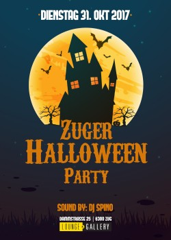 Flyer Zuger Halloween Party