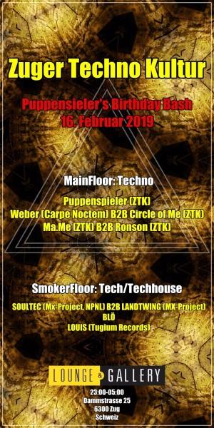 Flyer Zuger Techno Kultur