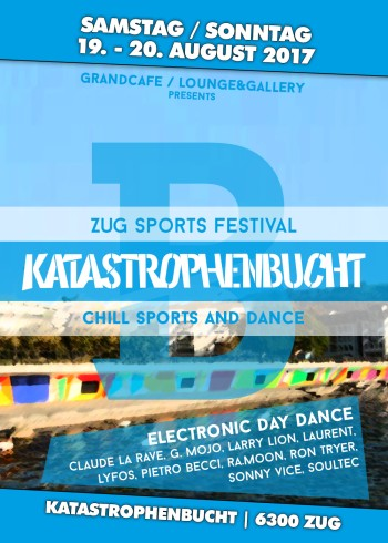 Flyer GC + L&G BAR am Zug Sports Festival