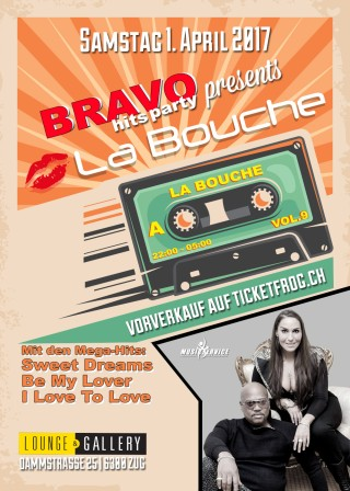 Flyer Bravo Hits Party
