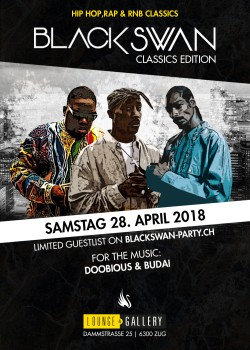 Flyer Black Swan - Strictly Blackmusic